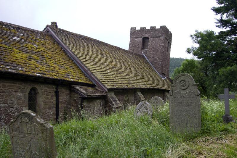 Cwmyoy Church, Wales