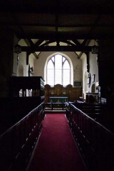 Parish Church, Stokesay Castle, Wales
