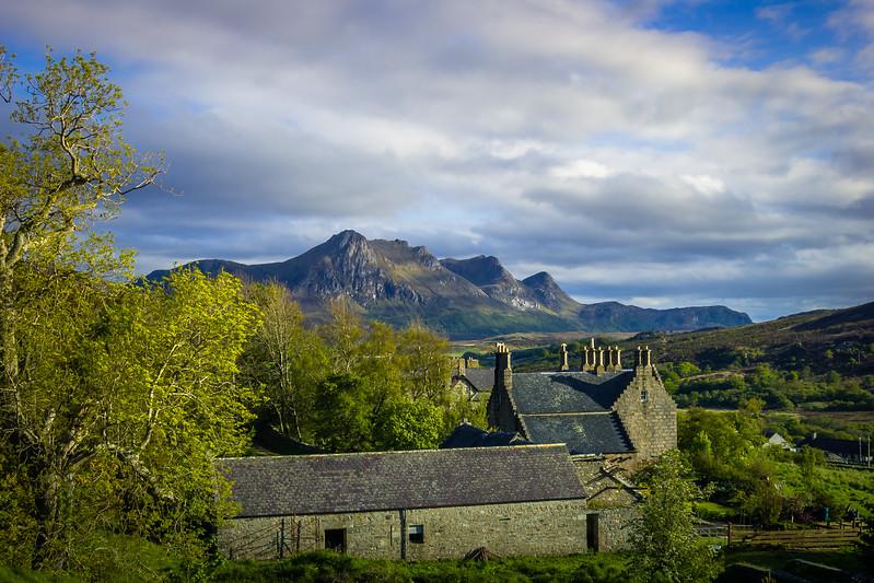 Walk to Castle Varrich, Tongue, Scotland