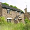 Houses near The Iron Bridge, Shropshire, England