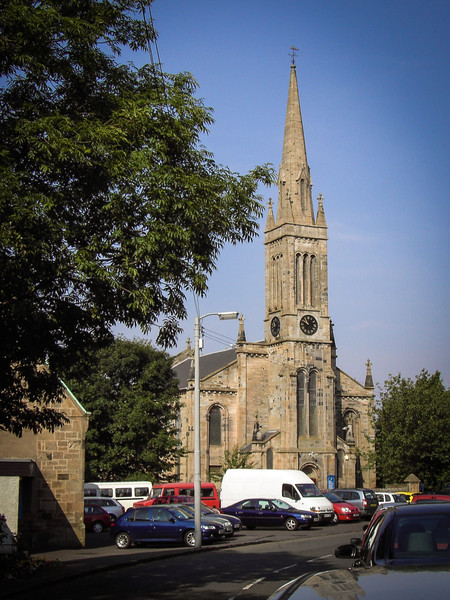 Cambuslang Old Parish Church, Glasgow<br /> Current building dates to 1841. A church has been on this site since 1458.