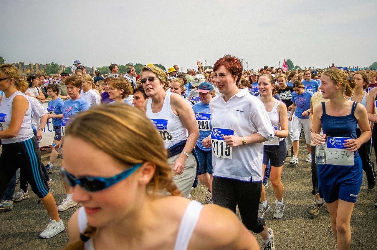 Cancer Research UK Race for Life, Edinburgh