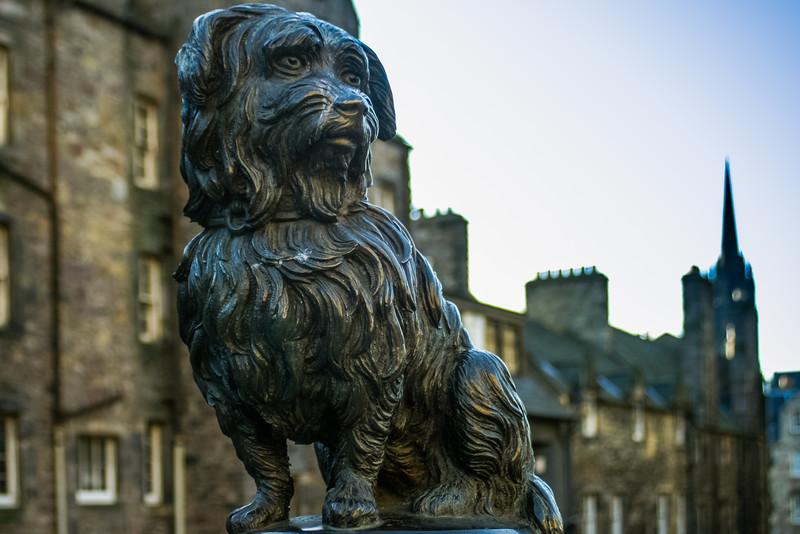 Greyfriar's Bobby, Edinburgh<br /> Greyfriar's Bobby, Edinburgh