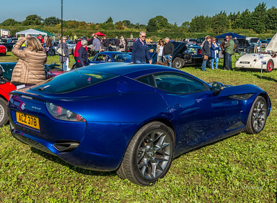 AC 278 GT Zagato 2012 Blue