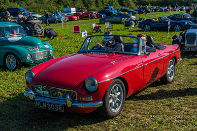 MG Midget 1967 NLM 303E Red