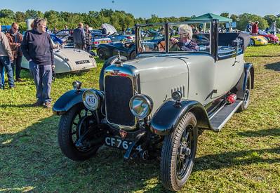 Alvis 12/50 1927 CF 7634 Grey