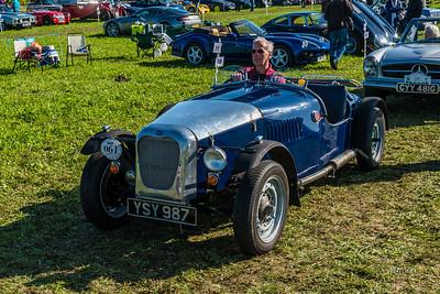 Buckler Mk6 1952 YSY 987 Blue