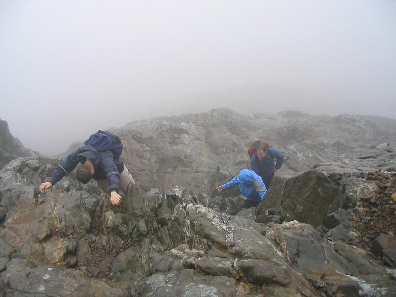 I call it rock climbing