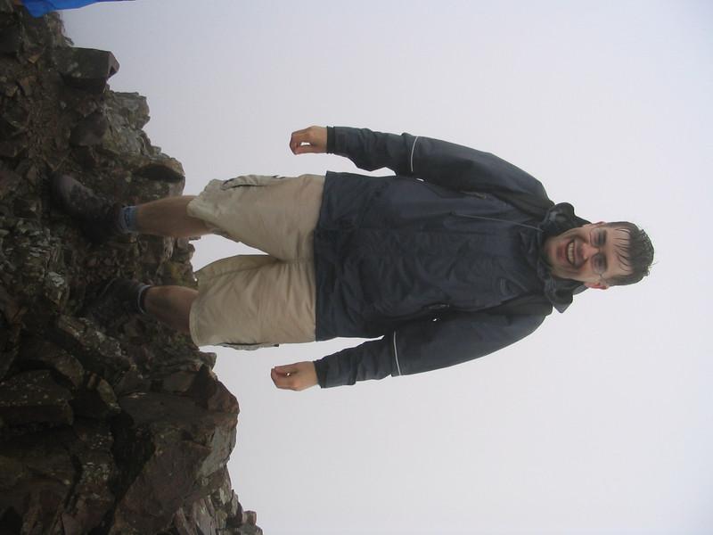 Near the top