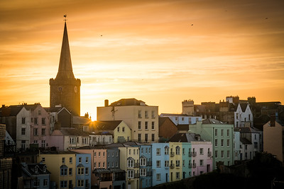 Tenby Sunset.