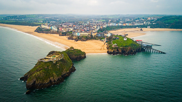 Tenby from Above