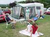 Hanley Swan camp site