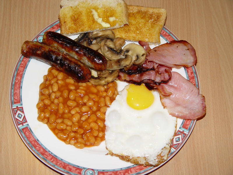 So what was the best thing about Center Parcs? My cooked English Breakfast :^) Thanks Jane!
