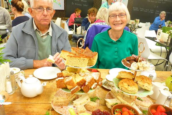 High Tea with Mum & Dad