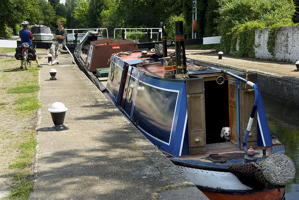 Grand Union Canal near Rickmansworth, 30km from the centre of London.