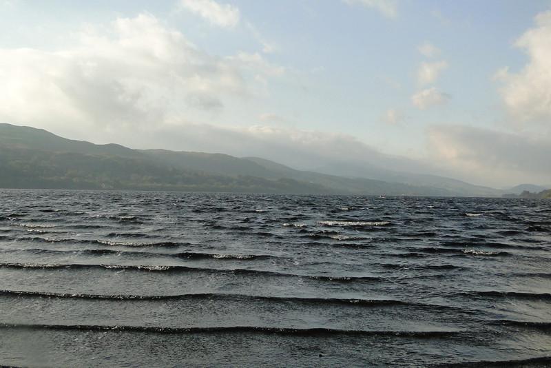 A quick stop at Bala Lake on the way to Dolgellau.