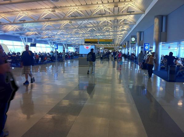 JFK terminal.