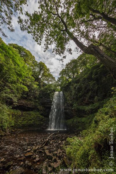 Henrhyd Waterfall
