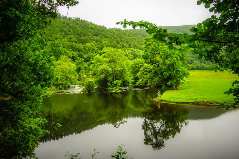 River Dee, Berwyn, Wales