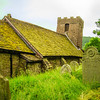 Cwmyoy Church, Wales