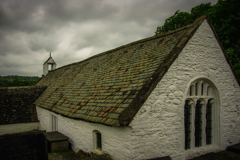 Llangar Church, Wales