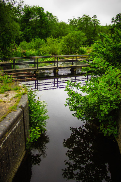 Near Chain Bridge, Llangollen, Wales