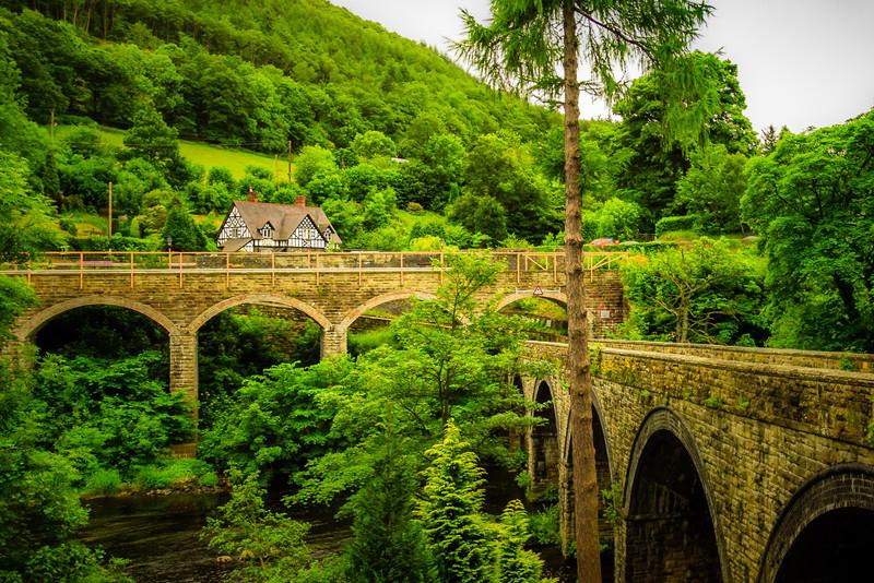 Bridges at Berwyn, Wales