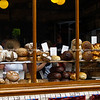 "Bread arrayed in shop window. England, Britain, United Kingdom. SEE ALSO:   <a href=""http://www.blurb.com/b/893070-impressions-of-the-uk"">http://www.blurb.com/b/893070-impressions-of-the-uk</a>"