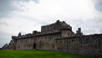 Front entrance of Craigmillar Castle