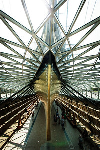 Sark Bow  Cutty Sark, Greenwich, London, England
