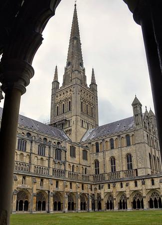 Norwich Cathedral Spire, Norwich, Norfolk, UK