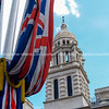 """Union Jack flag, draped from pole, The MAll, LondonEngland, Britain, United Kingdom. SEE ALSO:   <a href=""""http://www.blurb.com/b/893070-impressions-of-the-uk"""">http://www.blurb.com/b/893070-impressions-of-the-uk</a>"""