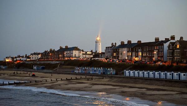 Southwold Lighthouse, Southwold Beach, Suffolk, UK