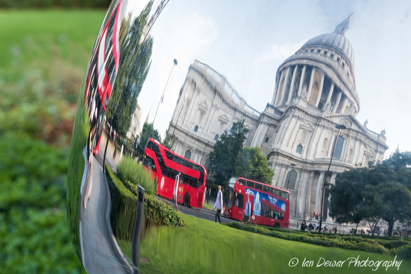 Reflection of St Paul's