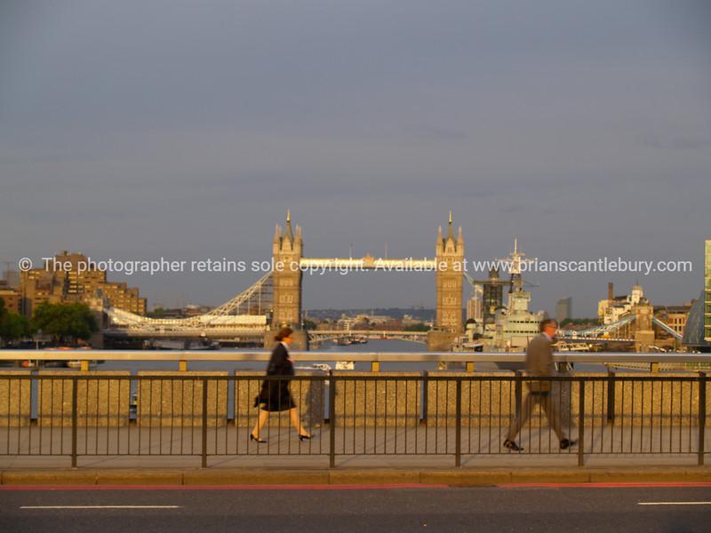 "Tower Bridge, London. From London Bridge as sun sets. SEE ALSO:   <a href=""http://www.blurb.com/b/893070-impressions-of-the-uk"">http://www.blurb.com/b/893070-impressions-of-the-uk</a>"