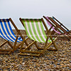 "Deckchairs on beach, Brighton, England, Britain, United Kingdom. SEE ALSO:   <a href=""http://www.blurb.com/b/893070-impressions-of-the-uk"">http://www.blurb.com/b/893070-impressions-of-the-uk</a>"
