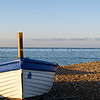 "Blue and white bow of Worthing fishing boat, on beach. SEE ALSO:   <a href=""http://www.blurb.com/b/893070-impressions-of-the-uk"">http://www.blurb.com/b/893070-impressions-of-the-uk</a>"