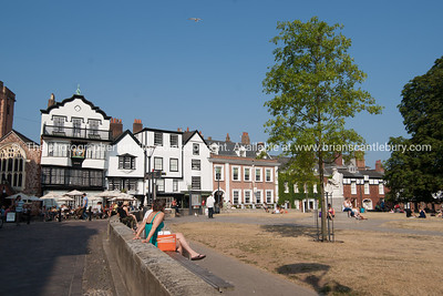 Cathedral Close Exeter