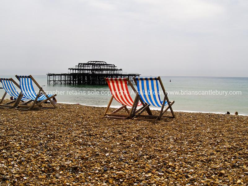 """Brighton Beach, England, Britain, United Kingdom. SEE ALSO:   <a href=""""http://www.blurb.com/b/893070-impressions-of-the-uk"""">http://www.blurb.com/b/893070-impressions-of-the-uk</a>"""