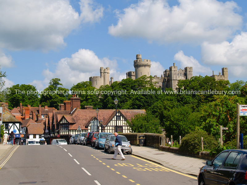 """Arundel Castle, and village, England SEE ALSO:   <a href=""""http://www.blurb.com/b/893070-impressions-of-the-uk"""">http://www.blurb.com/b/893070-impressions-of-the-uk</a>"""