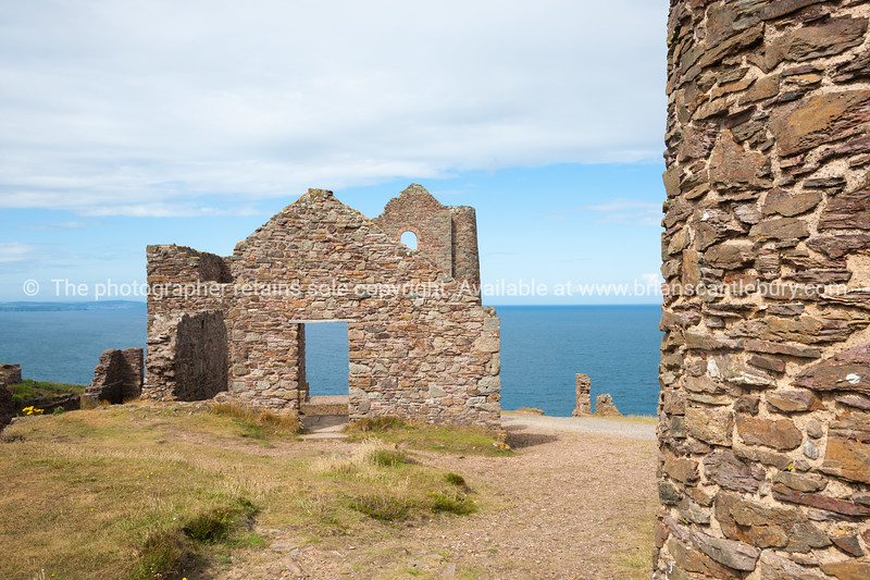 Tin mines, Cornwall, UK-100
