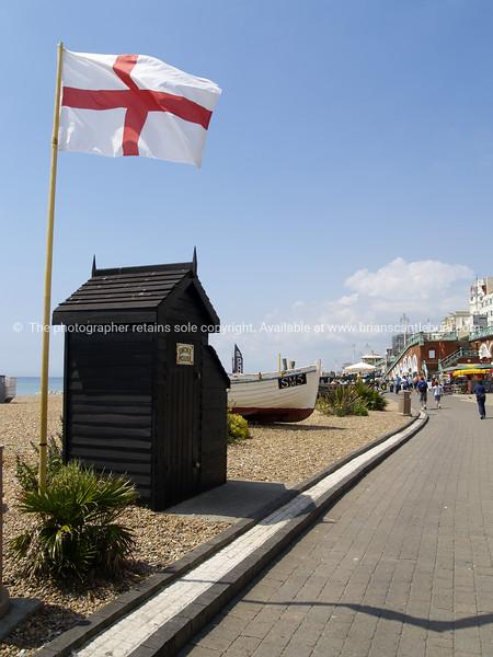 "Old smokehouse on Brighton Beach promenade, England, Britain, United Kingdom. SEE ALSO:   <a href=""http://www.blurb.com/b/893070-impressions-of-the-uk"">http://www.blurb.com/b/893070-impressions-of-the-uk</a>"