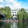 activity along London's Regent Canal.