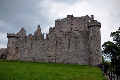 Exterior Wall at Craigmillar Castle