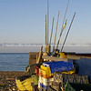 "Fishing gear, buckets, buoys, and nets, Worthing, England, Britain, United Kingdom. SEE ALSO:   <a href=""http://www.blurb.com/b/893070-impressions-of-the-uk"">http://www.blurb.com/b/893070-impressions-of-the-uk</a>"