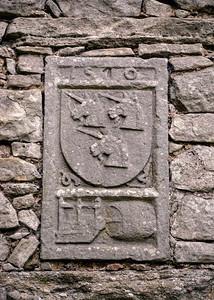 Coat of arms at Craigmillar Castle