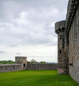 Side Wall of Craigmillar Castle