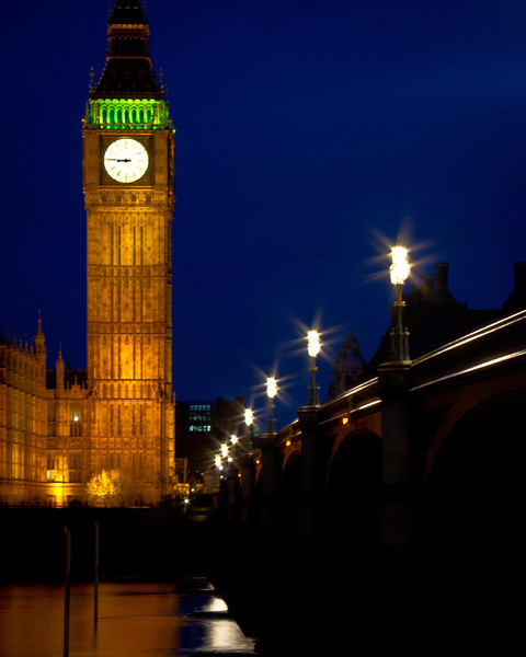 Big Ben, Westminster Bridge