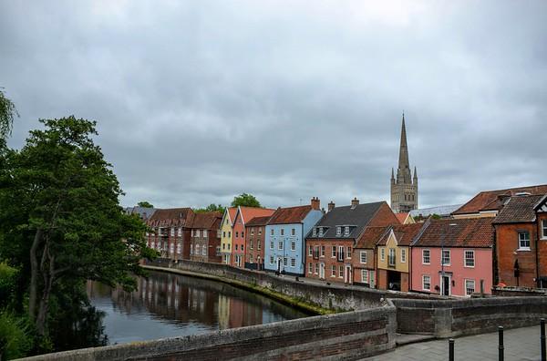 The River Wensum, Norwich, Norfolk, UK