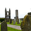 """Ruins and Grave yard, St Andrews, Scotland. SEE ALSO:   <a href=""""http://www.blurb.com/b/893070-impressions-of-the-uk"""">http://www.blurb.com/b/893070-impressions-of-the-uk</a>"""